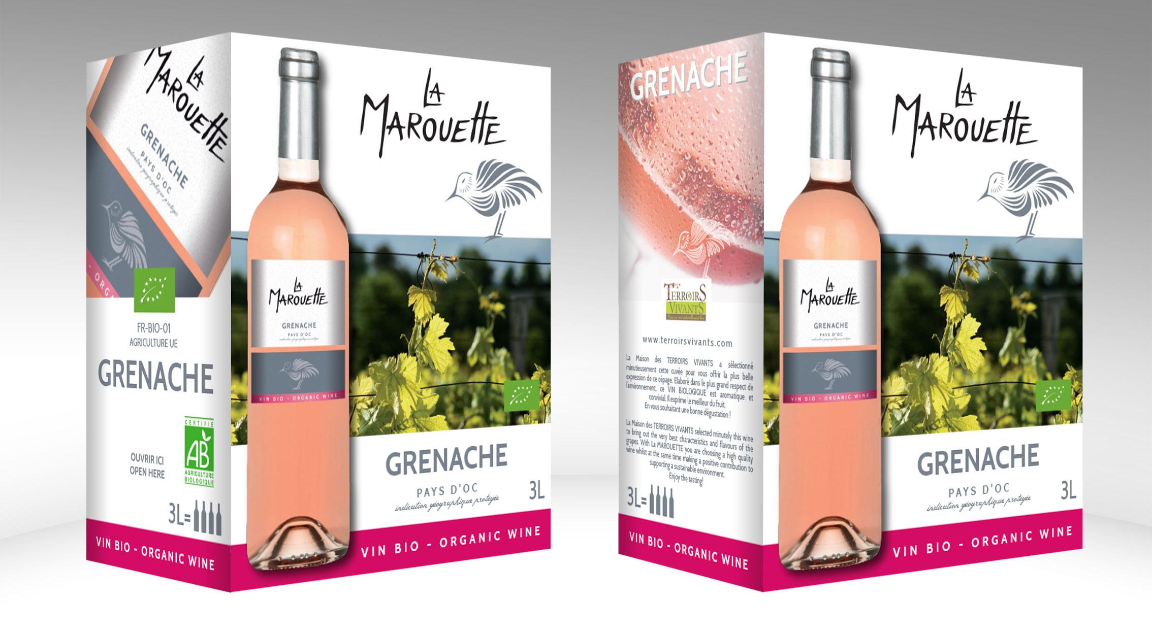 La Marouette-grenache-rose